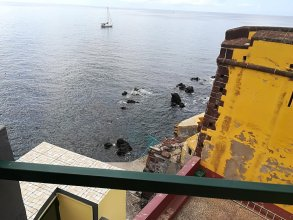 Apartment With one Bedroom in Funchal, With Wonderful sea View, Furnished Terrace and Wifi - 6 km From the Beach