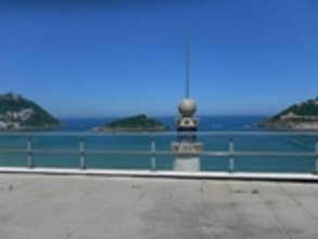 Apartment With 2 Bedrooms in Donostia, With Furnished Terrace and Wifi - 50 m From the Beach