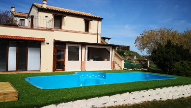 Villa With 2 Bedrooms in Castelplanio, With Wonderful Mountain View, Private Pool, Enclosed Garden - 30 km From the Beach