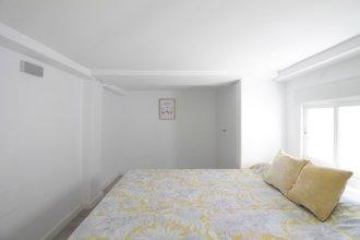Apartamento con 2 camas de Matrimonio, A/C y WiFi SANB1
