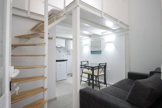 Duplex con cama de 135cm, A/C. WiFi metro Plaza Eiptica