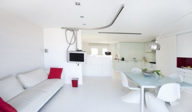 Penthouse Studio Apartment with big terrace in the city center - B122