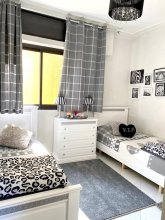 Apartment With 3 Bedrooms in Tanger, With Wonderful City View, Terrace and Wifi - 1 km From the Beach