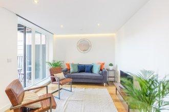 New Stylish 2 Bedroom Flat With Balcony Shoreditch