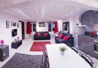 100 Luxury 2 Bedroom  Beaubourg Marais