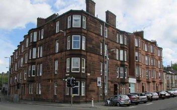 Glasgow Hampden Tenement Flat