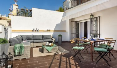 Great 3 BD Duplex With a Wonderful Private Terrace. Francos Terrace V