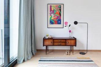 Unit 6 - Colorful Smart Home Triplex Private Garden & Parking