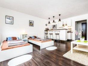 Design Apartment am Rhein und Messe