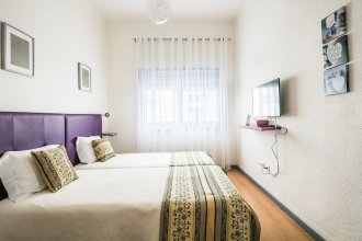Apartamento A Francos Purple Room