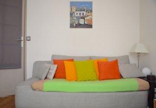 Bright Montmartre 1 Bedroom Flat