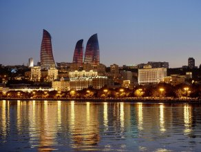 Отель Fairmont Baku at the Flame Towers