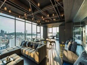 Thebase two-bedroom sea view Pattaya city center 200 meters from the beach