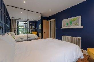 Modern 2 Bedroom Garden Apartment in West Hampstead