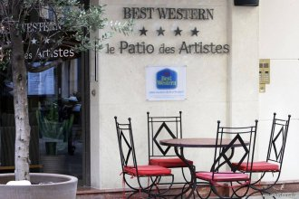 Отель BEST WESTERN Le Patio des Artistes