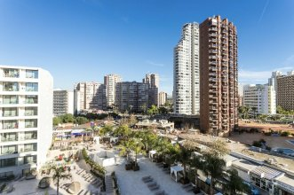 Apartment With 2 Bedrooms in Benidorm, With Wonderful City View, Shared Pool, Balcony - 350 m From the Beach