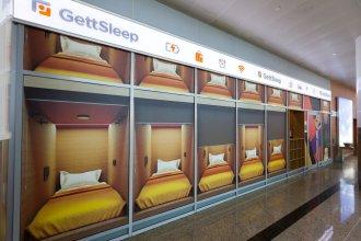 GettSleep Sheremetyevo Airport International Transit Area