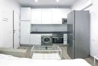 Moderno Apartamento en Bilbao con A/C, WiFi y cama closet y Sofá Cama