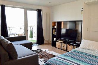 Stylish 1 Bedroom Studio Near Canary Wharf