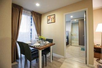 Cozy Apartment in BKK, Best for 3ppl (bkb212)