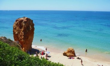 Apartment With 3 Bedrooms in Albufeira, With Enclosed Garden - 300 m From the Beach