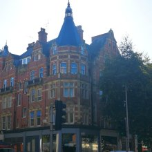 Kensington Palace by Underground station