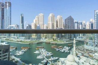 Amazing View of Dubai Marina w/ Cosy Vibes!