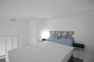 Dúplex con cama de Matrimonio y Sofá Cama A/C y WiFi SANB6