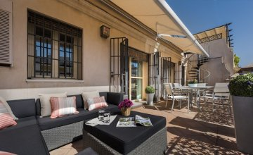 1 BD Penthouse With Private Terrace & Solarium Next to Cathedral. Vinuesa Terrace