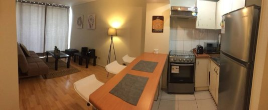 Apartment in Downtown of Santiago, Chile, one Room