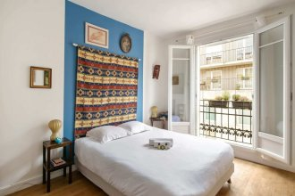 Comfortable Parisian Home 2mins From Metro Line 7
