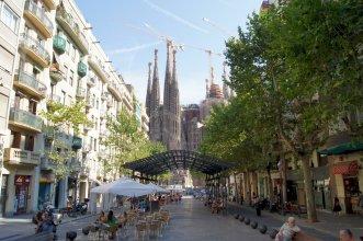 Comfortable 3-bedroom apartment next to Sagrada Familia - B377