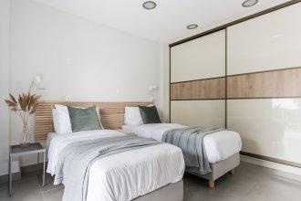 UPSTREET Modernized & Spacious 2BD Apartment in Chalandri