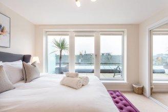 Luxury Penthouse Secc/hydro W/balcony & Parking