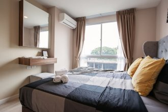 Cozy Apartment in BKK, Best for 3ppl (bkb218)