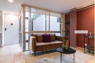 Cute Studio on top Floor in Condesa