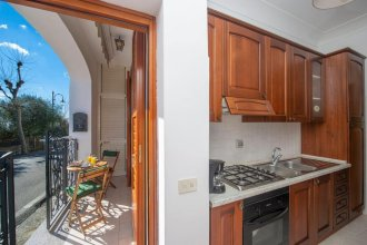 Apartment With one Bedroom in Conca dei Marini, With Wonderful sea View, Furnished Terrace and Wifi - 800 m From the Beach