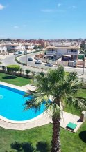 Apartment With 2 Bedrooms in Orihuela, With Wonderful sea View, Shared Pool, Furnished Balcony - 5 km From the Beach