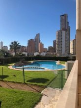 Apartment With 2 Bedrooms in Benidorm, With Pool Access, Enclosed Garden and Wifi - 500 m From the Beach