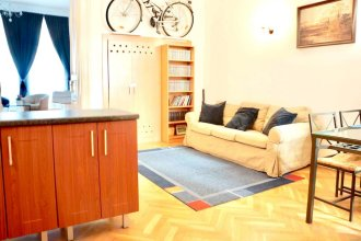 Apartment With 2 Bedrooms in Budapest, With Wonderful City View, Terrace and Wifi