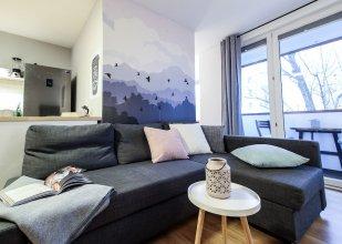 Powisle Riverside Apartment