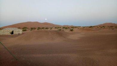 Night Desert Camp