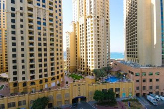 Marina Promenade – Delphine Tower/Dubai Marina 1BR Luxury Apt Sea View Sleeps 3 - HLS 37921