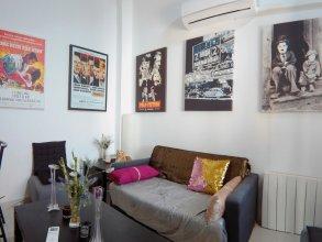Apartamento de 2 Habitaciones con A/C en Puerta del Angel AZ3A