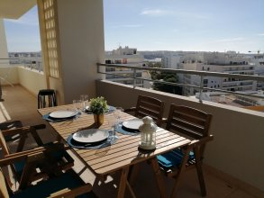 Apartment With 3 Bedrooms in Portimão, With Wonderful City View, Furnished Balcony and Wifi - 1 km From the Beach