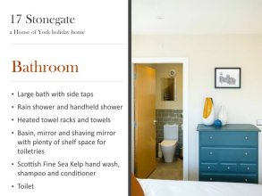 17 Stonegate - a House of York Holiday Homes