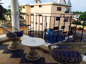 Apartment With one Bedroom in Boca Chica, With Wonderful City View, Shared Pool and Wifi - 600 m From the Beach