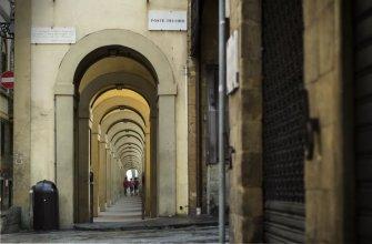 Ponte Vecchio Affresco