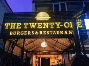 The twenty one burgers