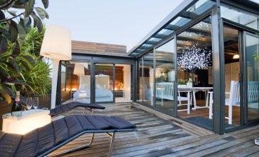 Watermelon - Modernist Terrace Flat II